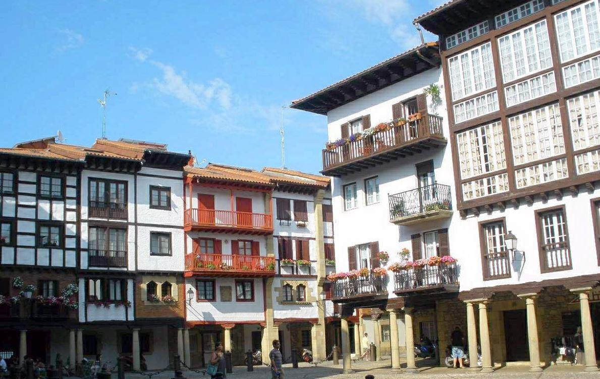 sitios bonitos pais vasco Fuenterrabía