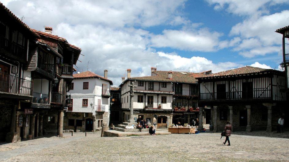 La Alberca ciudad medieval españa