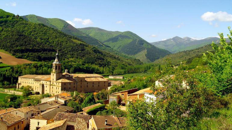 pueblos pintorescos de la rioja San Millán de la Cogolla