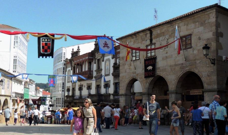 pueblo gallego de betanzos