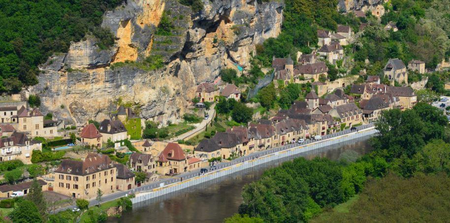 La Roque Gageac lo mas bonito de francia
