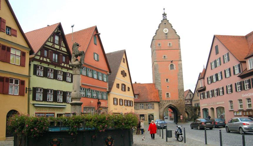 los pueblos mas bonitos de alemania Dinkelsbühl