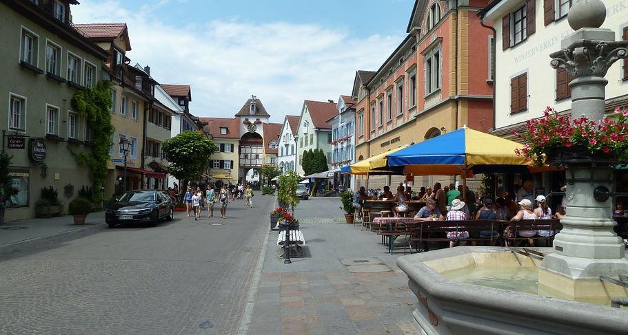 pueblos de alemania Meersburg (Baden-Wurtemberg)
