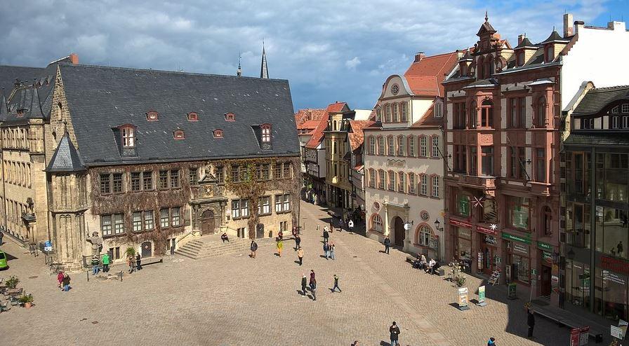 pueblos bonitos alemania Quedlinburg (Sajonia-Anhalt)