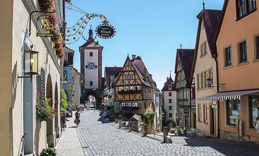 lugares mas bonitos de alemania Rothenburg ob der Tauber (Baviera)