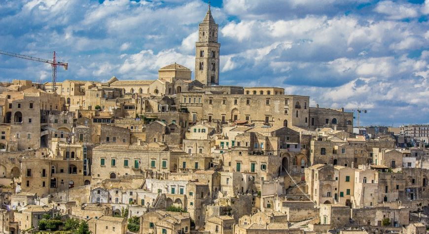 pueblos de italia Matera