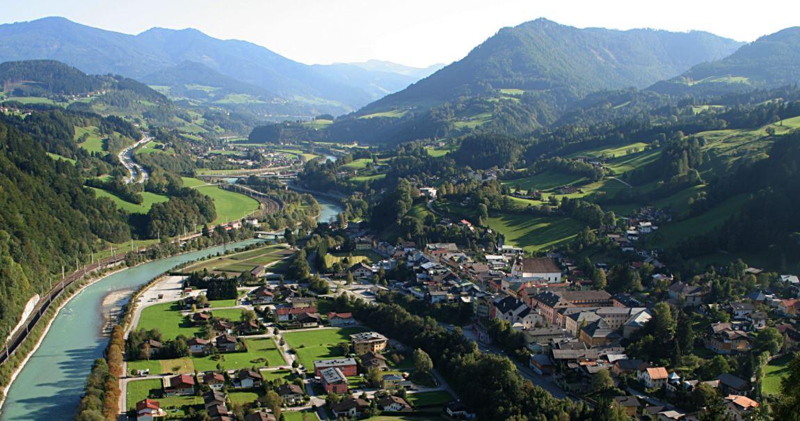 Werfen pueblos con encanto en Austria