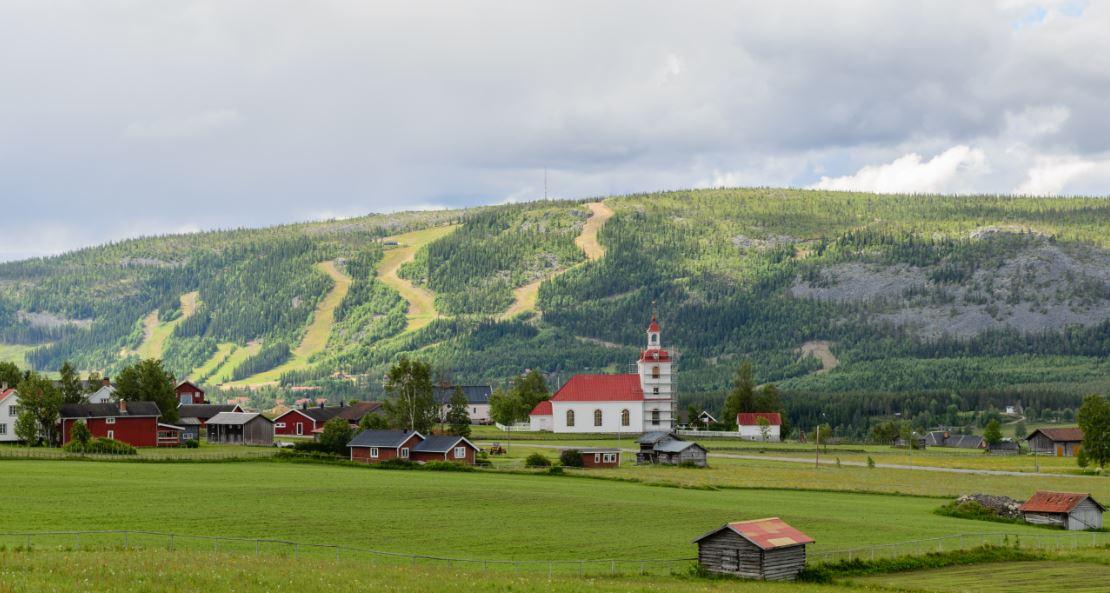 Klovsjo pueblos de suecia