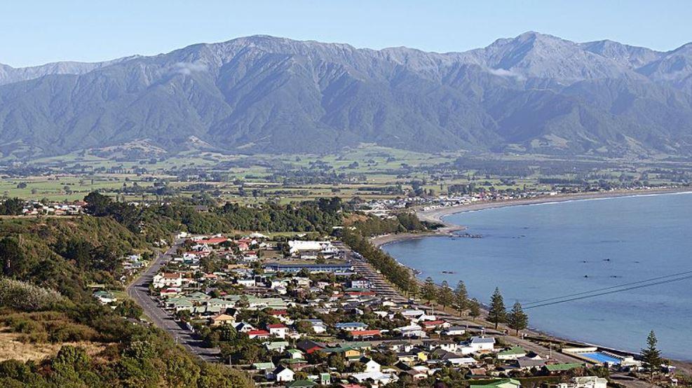 Kaikoura pueblos más encantadores de Nueva Zelanda