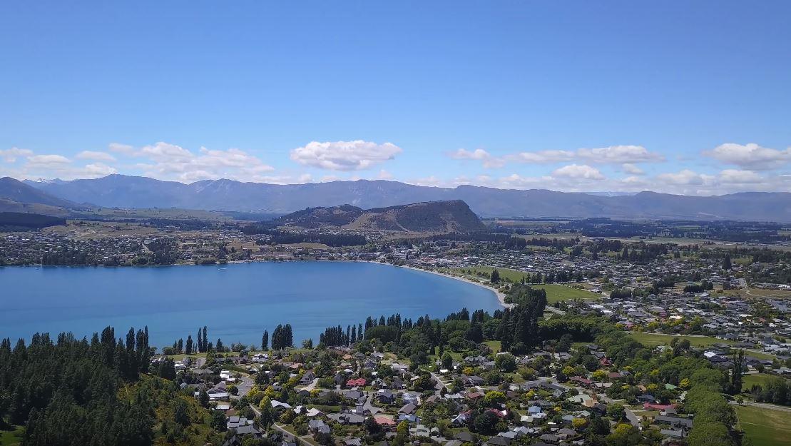 Wanaka pueblos más hermosos de Nueva Zelanda