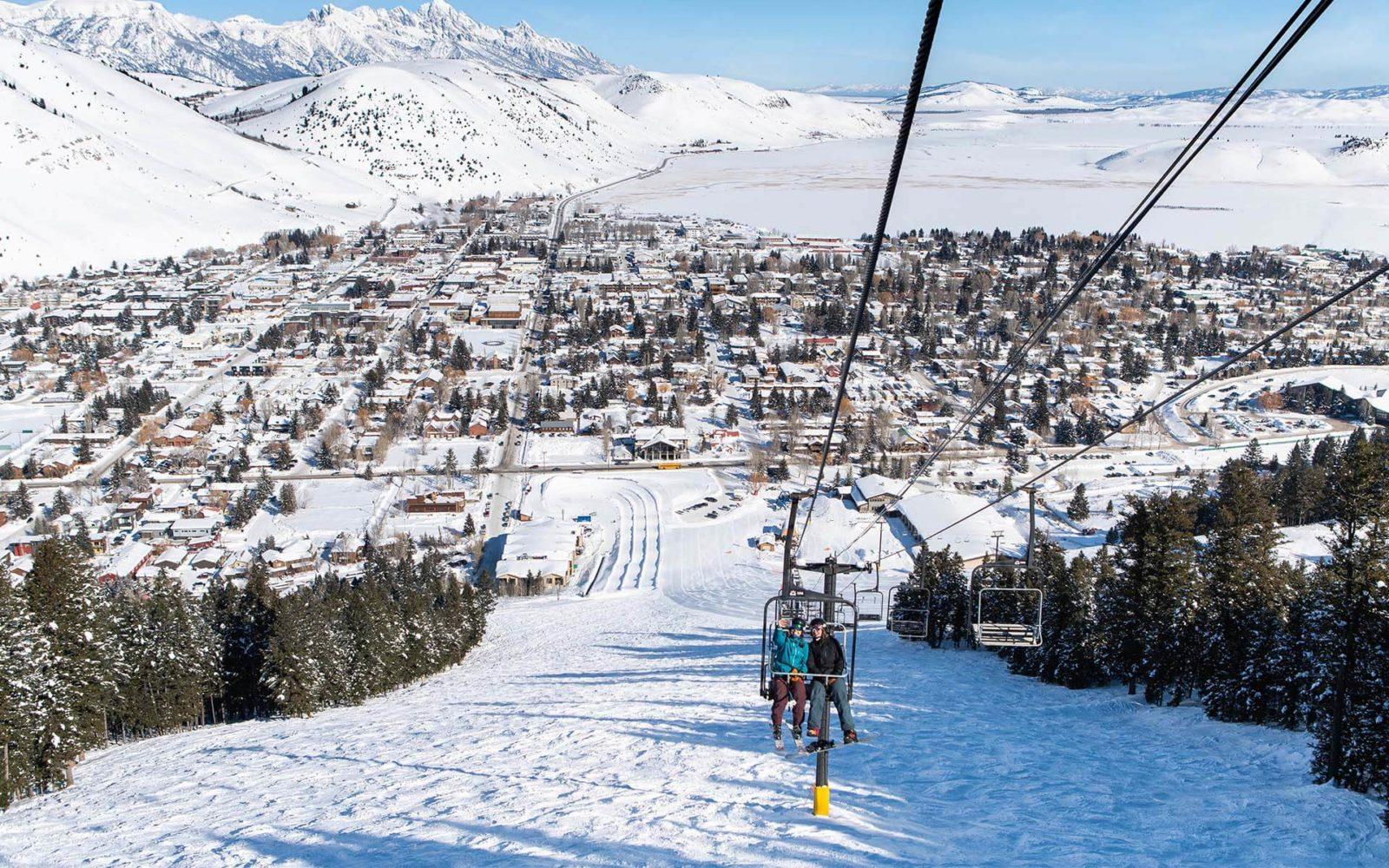 Jackson Wyoming paisajes de nieve
